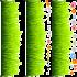 Virágok a fűben - Színes matrica csomag