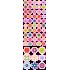 Apró virágok - Színes matrica csomag