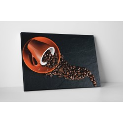 Barna kávécsésze