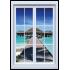 Maldív szigeteki kilátás