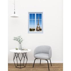 Ablak az Eiffel toronyra