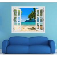 Phi Phi sziget - 3D hatású ablakos matrica